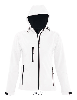 Chaqueta Softshell Replay Women Blanco