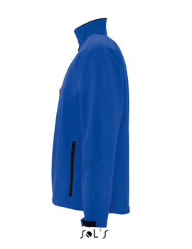 Chaqueta Softshell Relax Azul Royal