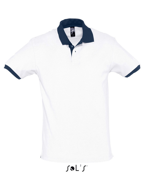 Gallery prince 11369 white french navy a