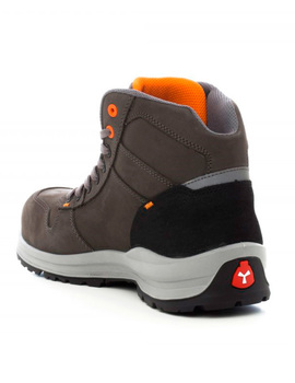 Bota GET FORCE MID S3 gris total moderna y flexible