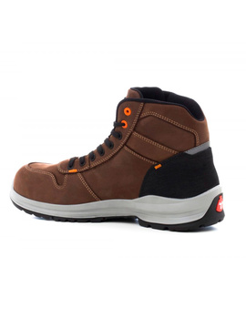 Bota GET FORCE MID S3 marrón moderna y flexible