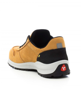 Zapato GET FORCE LOW S1P nobuck amarillo flexible y ergonómico