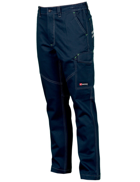 Gallery worker stretch   azul navy