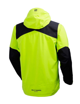 Chaqueta MAGNI SHELL JACKET DARK LIME de Helly Hansen