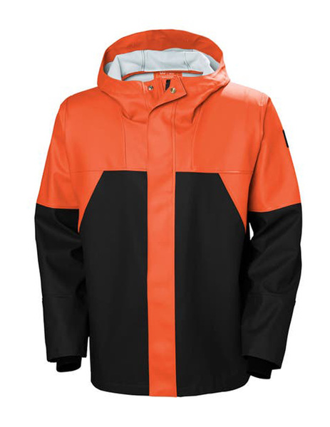 Chaqueta de lluvia STORM RAIN JACKET DARK ORANGE de Helly Hansen