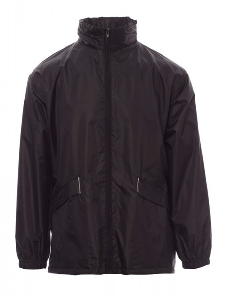 Chaqueta Impermeable Unisex modelo WIND color Negro