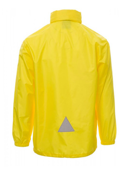 Chaqueta Impermeable Unisex modelo WIND color Amarillo