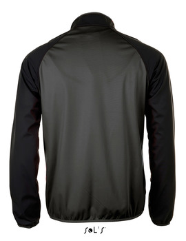 Chaqueta Softshell ultra ligera ROLLINGS bicolor Gris Oscuro/ Negro