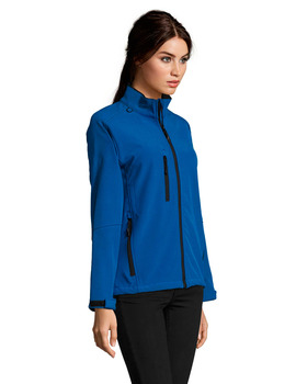 Chaqueta Softshell modelo ROXY de mujer color Azul Royal