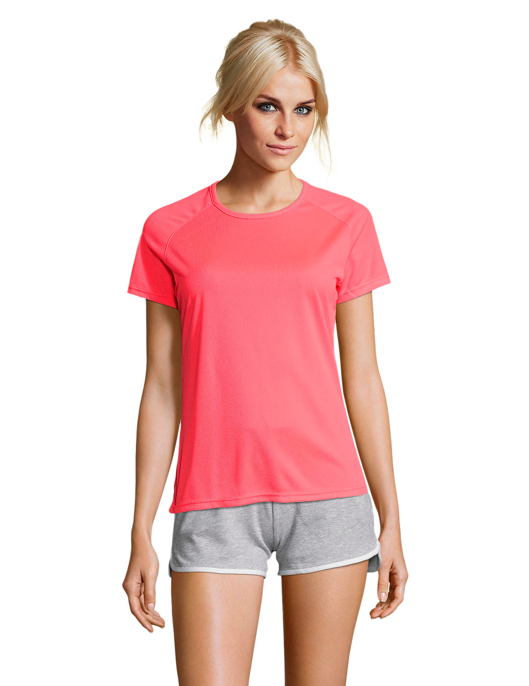 Sporty mujer neon coral 1