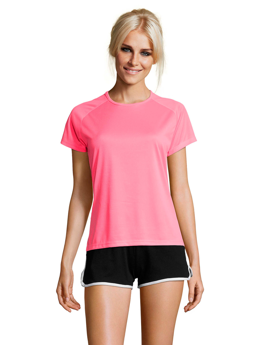 Sporty mujer rosa fluor 1
