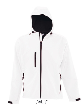 Chaqueta Softshell Replay Men Blanco